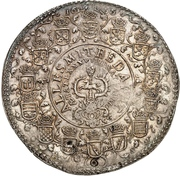 6 thaler August II (88ème anniversaire de August II) – revers