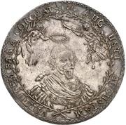 1½ thaler August II (88ème anniversaire de August II) – avers