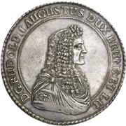 4 thaler Rudolf August – avers