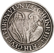 1 thaler Heinrich et Erich – avers
