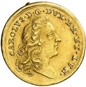 1 ducat Karl I – avers