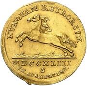 1 ducat Karl I – revers