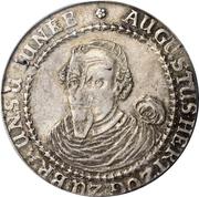 1 Thaler - August (Reisetaler) – avers