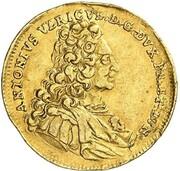 1 ducat Anton Ulrich (Harz Ausbeute) – avers