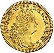 1 ducat August Wilhelm – avers