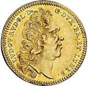 1 ducat Ludwig Rudolph – avers