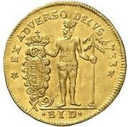 1 ducat Ludwig Rudolph – revers