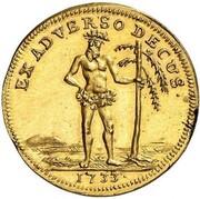 1 ducat Ludwig Rudolf – avers
