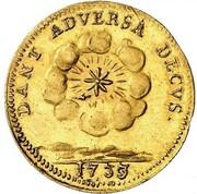 1 ducat Ludwig Rudolf – revers