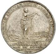 1 thaler Karl I – revers