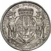 1 thaler Karl I – avers