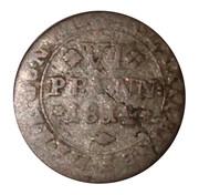 6 pfennig Friedrich Wilhelm – revers