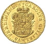 1 ducat Karl Wilhelm Ferdinand – avers