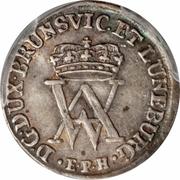 2 Mariengroschen - August Wilhelm – avers