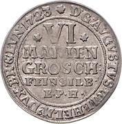 6 mariengroschen - August Wilhelm – avers