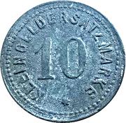 10 pfennig - Bublitz – revers