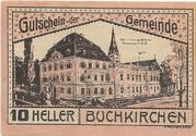 10 Heller (Buchkirchen) – avers
