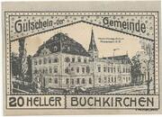 20 Heller (Buchkirchen) – avers