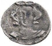 1 Denár - Buda – avers