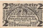 2 Pfennig (Grube Ilse - Ilse-Wohlfahrtsgesellschaft m.b.H.) – avers