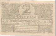 2 Pfennig (Grube Ilse - Ilse-Wohlfahrtsgesellschaft m.b.H.) – revers