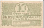 10 Pfennig (Grube Ilse - Ilse-Wohlfahrtsgesellschaft m.b.H.) – revers