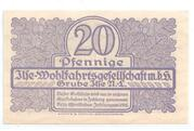 20 Pfennige (Grube) – revers