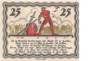 25 Pfennig (Büdelsdorf) – revers