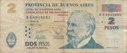 "2 Pesos (Treasure bond - ""Patacón"")) – avers"