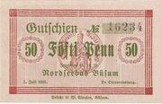 50 Pfennig (Büsum) – avers