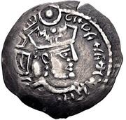 Dirham - Khunak - Bukhar Khudah - Bukharkhudates - 681-890 AD – avers