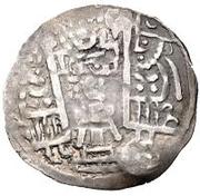 1 Drachm - Toghshada (Bukhar Khudat; Samarqand; countermarked) – revers