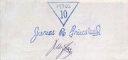 10 Pesos (Bukidnon; 109th Division USFIP)) – revers