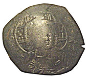 Trachy (Bulgarian imitation of Trachy of Alexius III - Type C, unknown ruler and mint) – revers