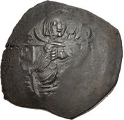 Trachy - Petar IV / Ivan I Asen (Imitating BI aspron trachy of Isaac II Angelus) – avers