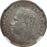1 lev - Ferdinand Ier (prince) – avers