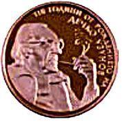 2 Leva (Dechko Uzunov) – revers