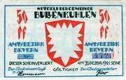 50 Pfennig (Bullenkuhlen) – avers