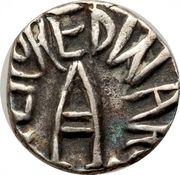 ¼ Rupee - Edward VII [Raghubir Singhji] – avers
