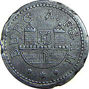 50 pfennig - Burg auf Fehmarn – avers