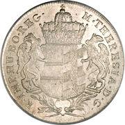 1 thaler Marie Thérèse (Gunzburg) – avers