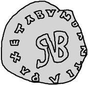 1 silique Gondebaud (Lugdunum/Lyon) – avers