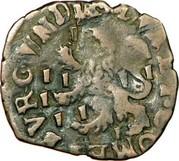 Double denier - Philippe IV d'Espagne - Pour le Comté de Bourgogne – revers