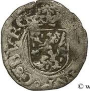Liard - Philippe II d'Espagne - Franche-comté (pour le comté de Bourgogne) – avers