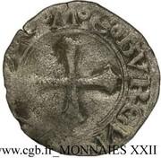 Liard - Philippe II d'Espagne - Franche-comté (pour le comté de Bourgogne) – revers
