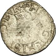 Demi-carolus ou petit blanc à l'écu comtois - Philippe II d'Espagne – avers