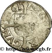 Demi-carolus ou petit blanc à l'écu comtois - Philippe II d'Espagne – revers