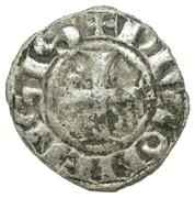Digenois aux trèfles en 1 et 4 - Hugues IV – revers