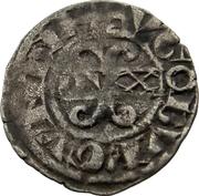 Auxonois aux trèfles - Hugues IV – avers