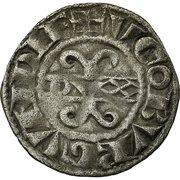 Digenois aux trèfles en 2 et 3 - Hugues IV – avers